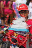 motor lasów motocyklistów wyścig road Zdjęcia Royalty Free