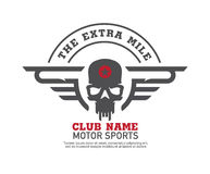 Motor logo graphic design. Royalty Free Stock Image