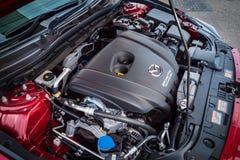 Motor Mazda3 2016 Arkivbild