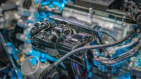 Motor mecánico industrial de los recambios imagen de archivo