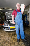 Motor Mechanic Royalty Free Stock Images