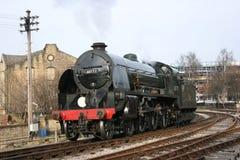 Motor meridional Sir Lamiel número 30777 en Keighley, Keighley a Imágenes de archivo libres de regalías