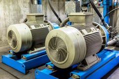 Motor mit Pumpenindustrie Lizenzfreies Stockbild