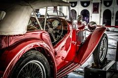 Motor- Morris Tiger Lizenzfreie Stockfotos