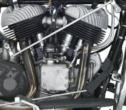 Motor of a motorbike Stock Images