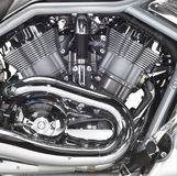 Motor of a motorbike Royalty Free Stock Photography