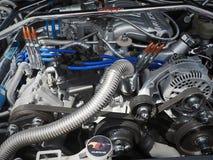 Motor-motorn Ford Mustang är en amerikanare fotografering för bildbyråer