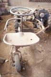 Motor mower for fodder Stock Photography