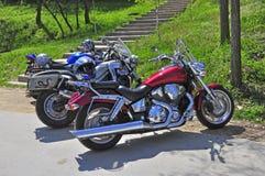 Motor Near Stairs Stock Photos