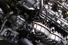 Motor 2018 novo do elevado desempenho na exposição na feira automóvel internacional norte-americana Imagem de Stock Royalty Free