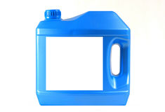 Motor oil bottle Royalty Free Stock Images