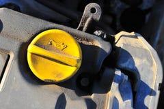 Motor oil cap Royalty Free Stock Photo