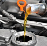 Motor oil Stock Image
