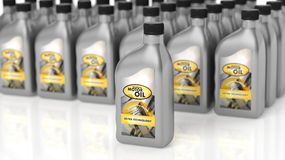 Motor oil Royalty Free Stock Images