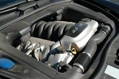 Motor onder de kap Royalty-vrije Stock Afbeelding