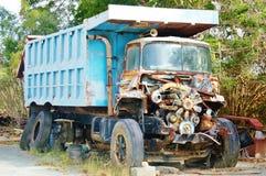 Motor oxidado do caminhão velho Imagem de Stock Royalty Free