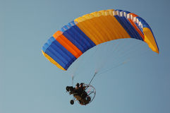 Motor parachute Stock Photos