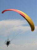 Motor parachute Stock Images