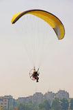Motor parachute Royalty Free Stock Photography