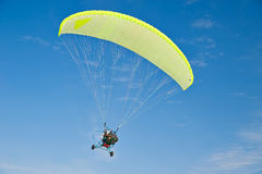 Motor-paraplane Royalty Free Stock Photography