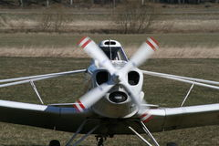 Motor plane Stock Images