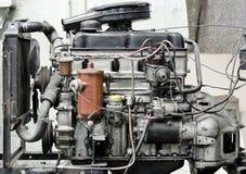 Motor polvoriento anticuado foto de archivo libre de regalías