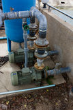 Motor pump water Royalty Free Stock Image