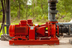 Motor pump water Stock Images