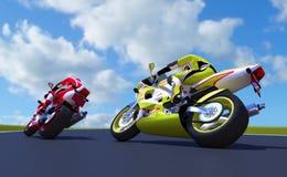 Motor-raça Fotos de Stock Royalty Free