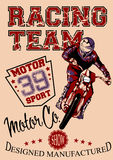 Motor race Stock Images