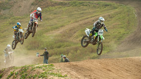 Motor Racing, cross championship Royalty Free Stock Photography