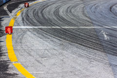 Motor racing track Stock Photos