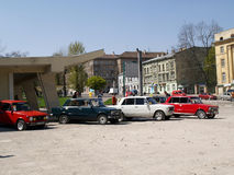 Motor rally 'VAZ-2101'. Lviv, Ukraine, 24 Apr 2010 Stock Image