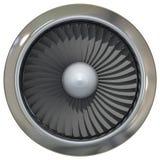 Motor a reacción de Turbo ilustración del vector