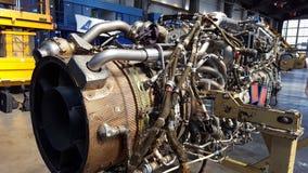 Motor a reacción del ATR 72 Imagen de archivo libre de regalías