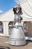 Motor a reacción NK-33 del cohete de espacio Imágenes de archivo libres de regalías