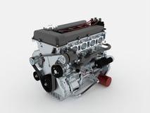 Motor rendido ilustração stock