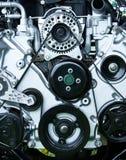 Motor restablecido de la vendimia imagenes de archivo