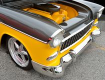 Motor restaurado do besouro de Volkswagen Fotos de Stock