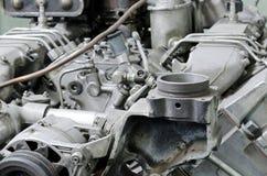 Motor roto anticuado imagen de archivo