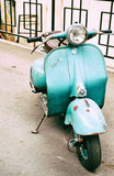Motor scooter Vyatka Stock Photography