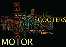 Are Motor Scooters Safe Yes And No Word Cloud Concept. Are Motor Scooters Safe Yes And No Text Background Word Cloud Concept Royalty Free Stock Images