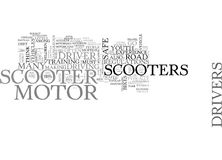 Are Motor Scooters Safe Yes And No Word Cloud. ARE MOTOR SCOOTERS SAFE YES AND NO TEXT WORD CLOUD CONCEPT Royalty Free Stock Photos