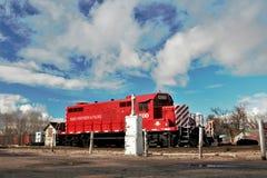 Motor septentrional y pacífico de Idaho del ferrocarril foto de archivo libre de regalías