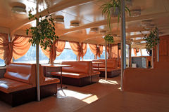 Motor ship Royalty Free Stock Images