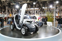 Renault Twizy in Bologna Motor Show Stock Photography