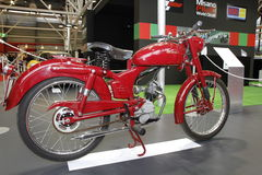 Antique Ducati 65T motorcycle Stock Image