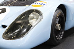 Detail of Porsche racing car Royalty Free Stock Images