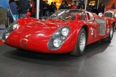 Alfa Romeo in Bologna Motor Show royalty free stock photography