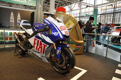 Yamaha in Bologna Motor Show Royalty Free Stock Image